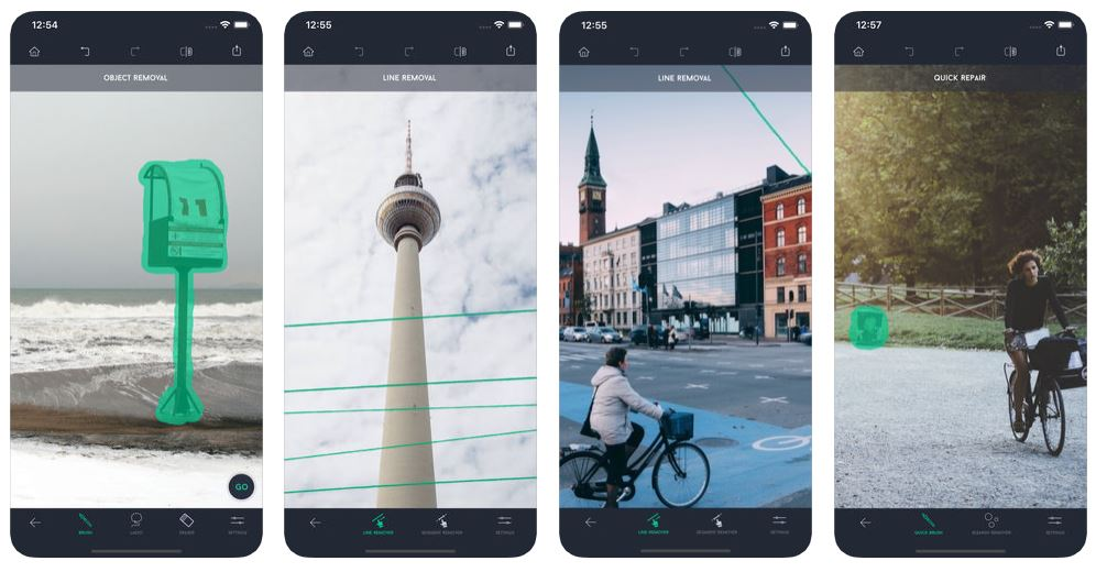TouchRetouch - photography app android