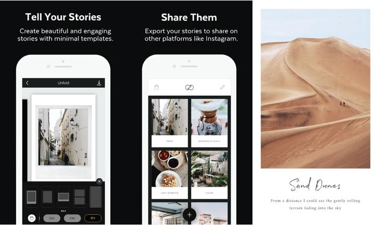 Unfold - Photography App Android