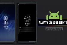 display edge lightning android