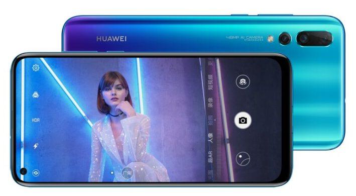 Huawei Nova 4 water-drop hole-punch