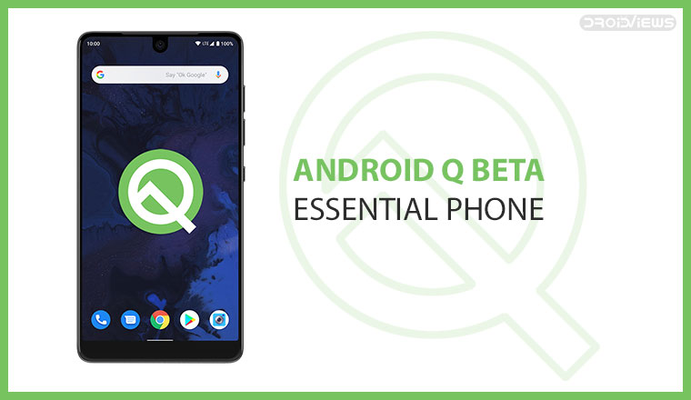 essential phone android q