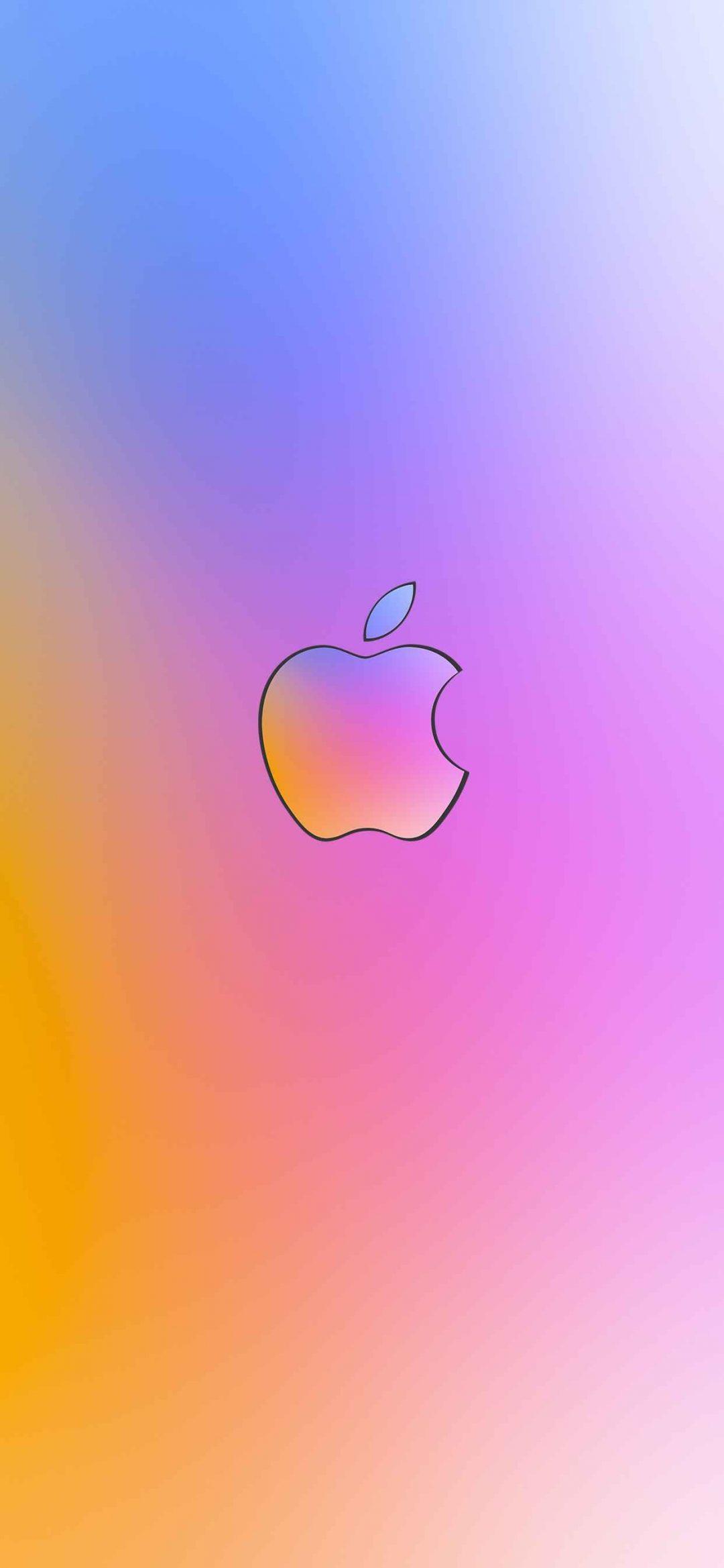 apple small logo wallpaper