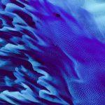 Zenfone 6 blue flow wallpaper