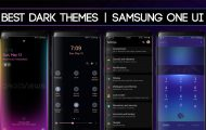 samsung dark themes one ui