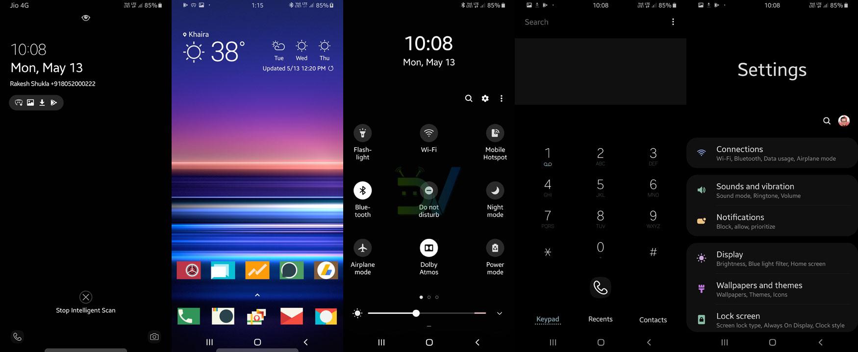 13 Best Samsung Themes 2019 | Dark Samsung One UI Themes