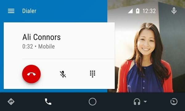 Hands Free Calling Feature on Android Auto