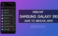 debloat galaxy s10