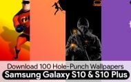 Hole-Punch Wallpapers for Galaxy S10