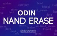Odin Nand Erase fix