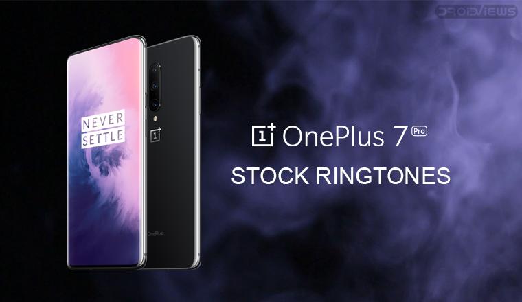 oneplus 7 pro ringtones