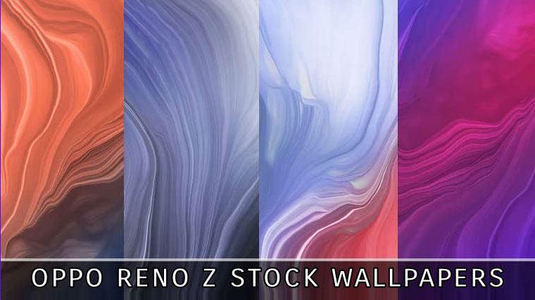 oppo reno z stock wallpapers