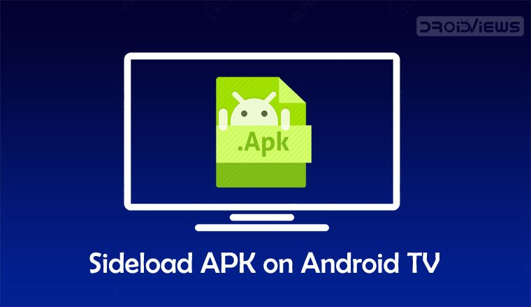 sideload apk android tv