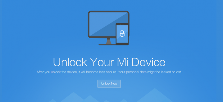 unlock mi device bootloader