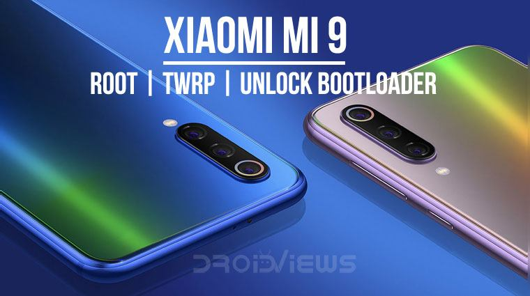 Xiaomi Mi 9 root and twrp