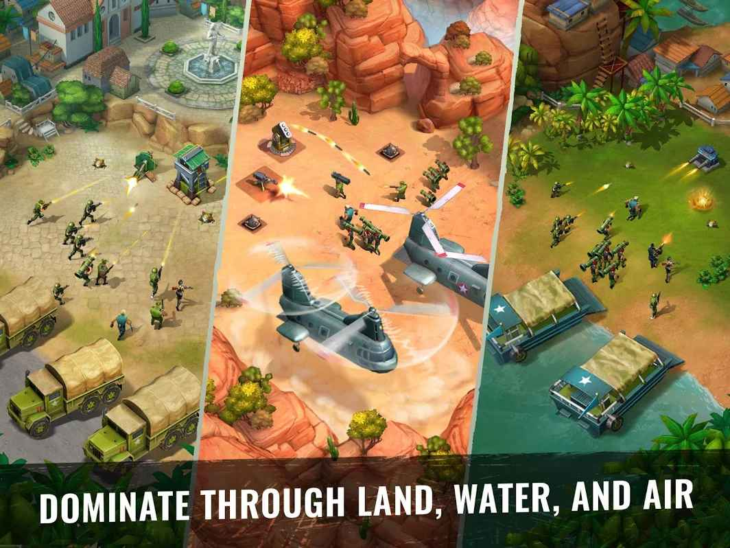 army of heroes war game