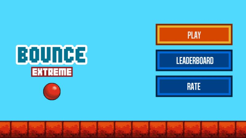 bounce retro game