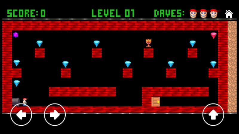 Dangerous Dave retro game