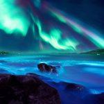 Honor 20 aurora sea wallpapers