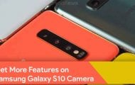 unlock Galaxy S10 hidden camera features