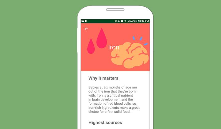 Nuttri - best apps for moms