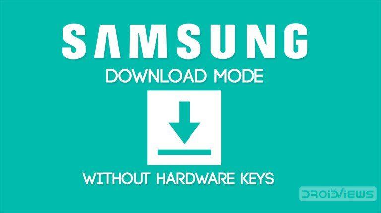 Samsung 300K Tool | Samsung Download Mode without Hardware Keys