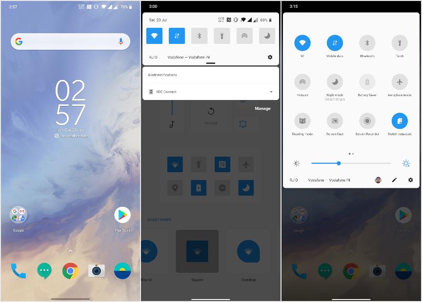 oneplus 7 android q beta 5 screenshot
