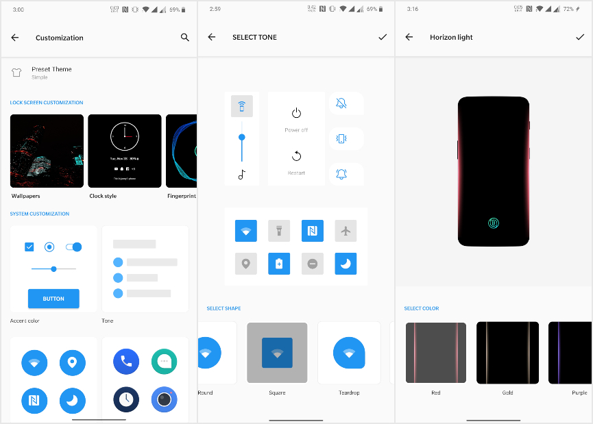 Android Q OnePlus 7 Pro Customization