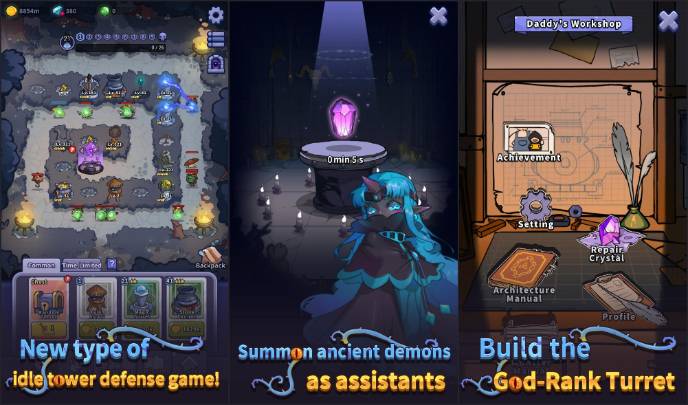 New Android Games: Idle Defense