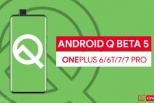 Android Q Beta 5 on OnePlus
