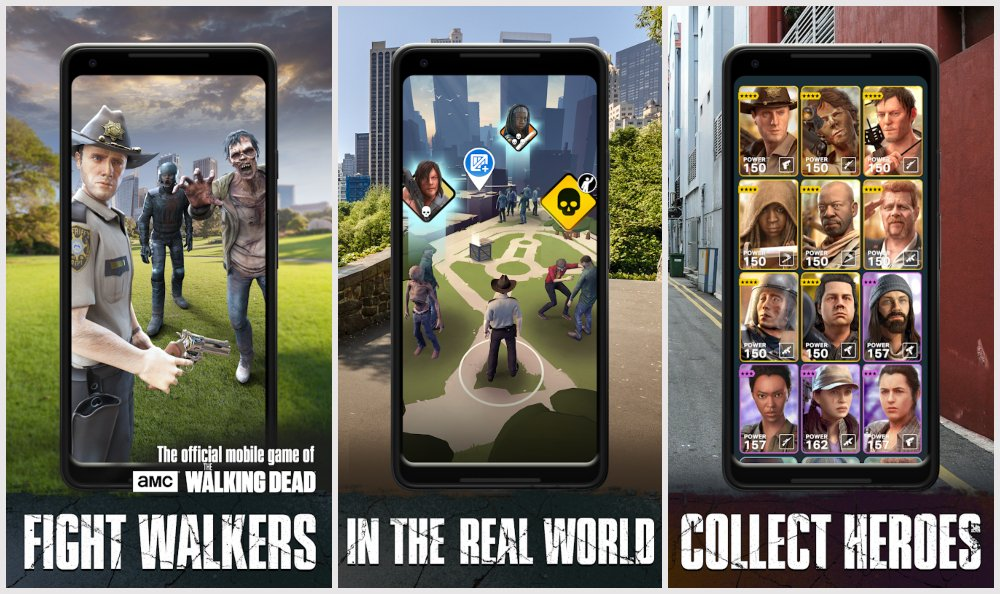 Walking Dead Augmented Reality Games