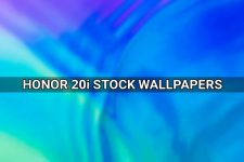 Honor 20i stock wallpapers