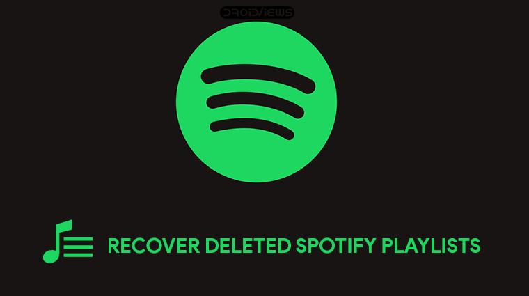 Recover Spotify Playlists