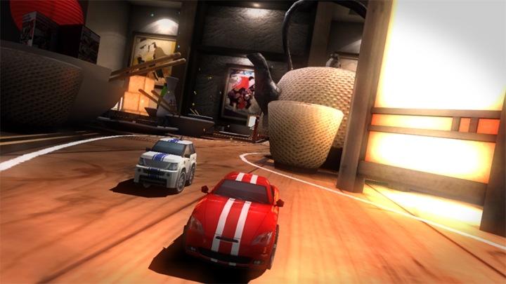 Table Top Racing offline game