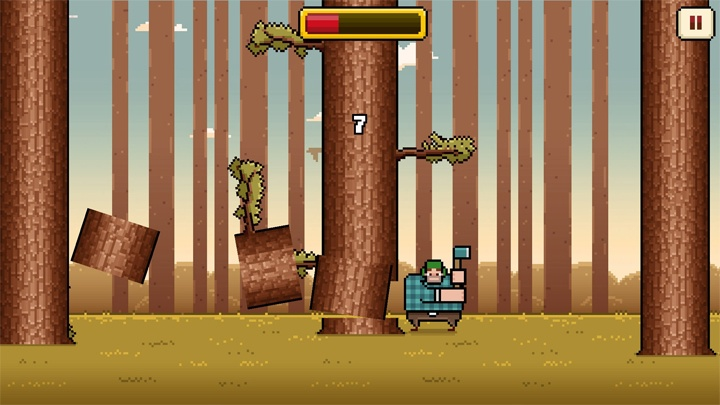 Timberman offline game android