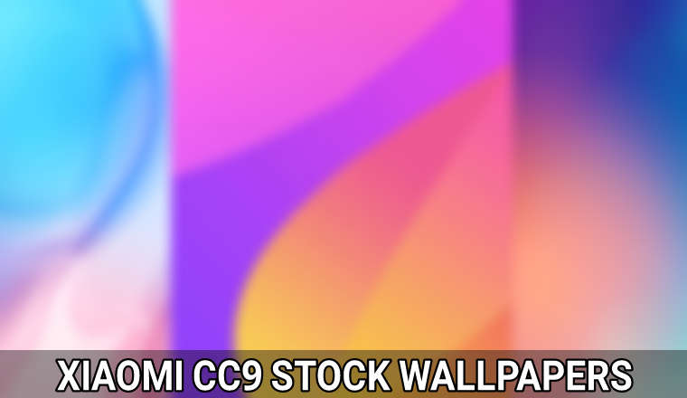xiaomi cc9 stock wallpapers featured image