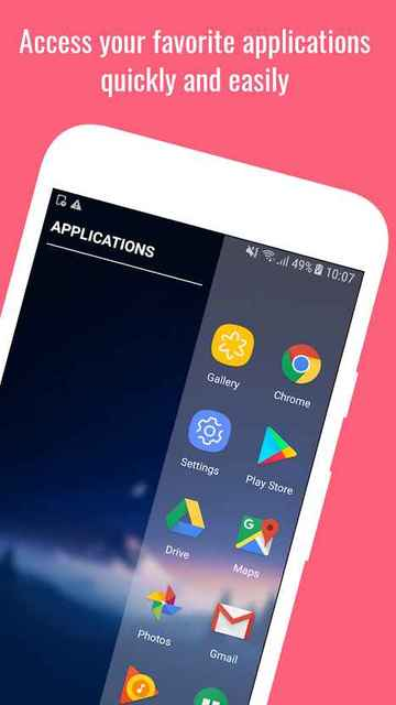 Edge Screen multitasking app