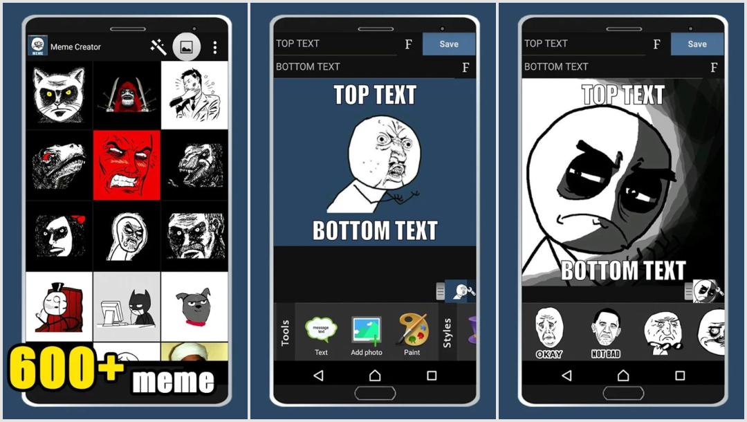 Meme Creator app