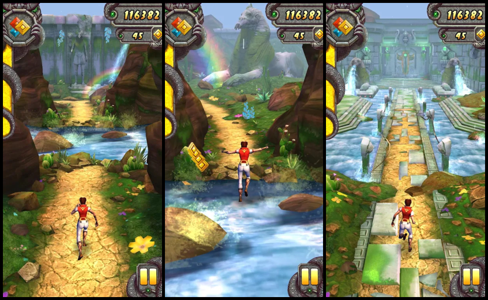 best endless runner games: Temple Run 2