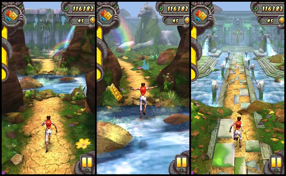 best endless runner games: Temple Run 2