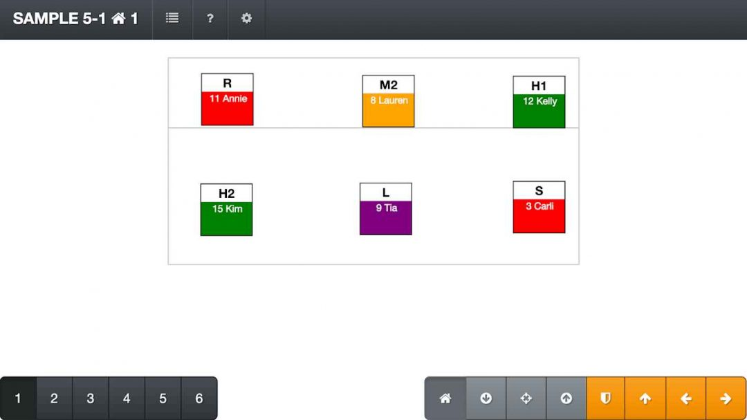 Volleyball Rotations:  Android app