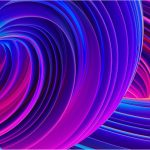 abstract swirl honor magicbook pro wall