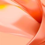 meitu v7 orange liquid wallpaper