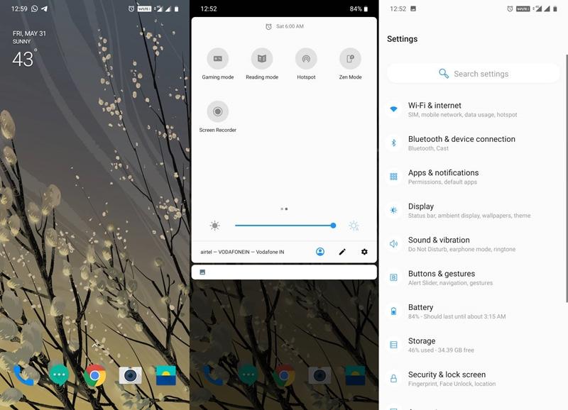 OxygenOS on Redmi Note 7 Pro