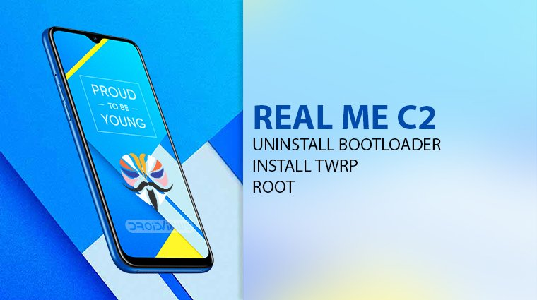 Realme C2 root and twrp