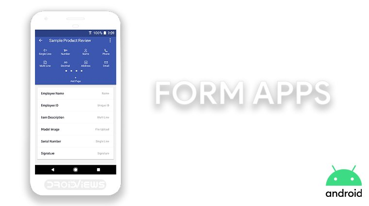 best forms apps android