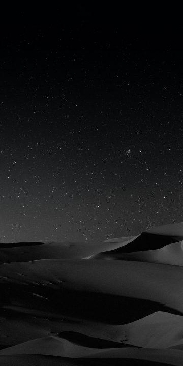 LG V35 night dune wallpaper