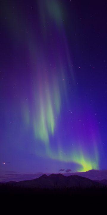 LG V35 aurora wallpaper