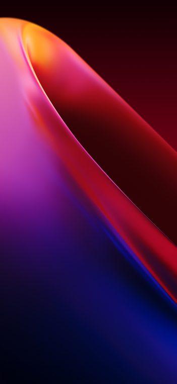 OnePlus 7T purple wallpaper