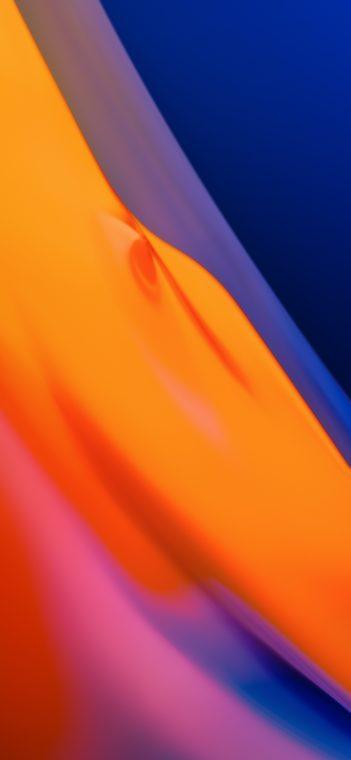 orange gradient wallpaper