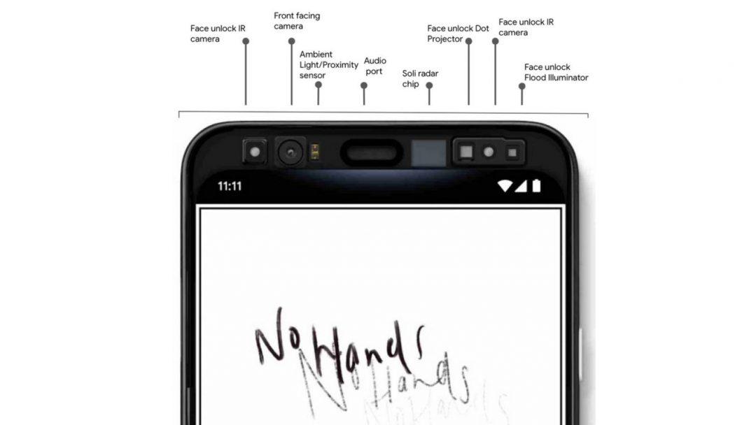 Pixel 4 sensors